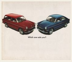 mid-60s Volkswagen Type-3 Sales Brochure | OldBrochures.com