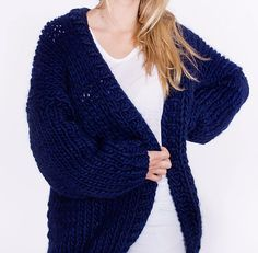 'The One' sweater by this is SIMPLE KNITTING