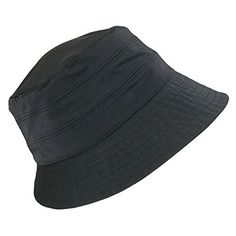 Whether it be rain, wind, or snow, get the perfect amount of protection and coverage from this fashionable water repellent rain hat. It features an adjustable inner drawstring to give you the perfect fit. This new drawstring will give you the great fit you love without having to worry about it...