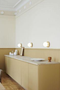 Krüger's first Public Showroom in the Company's Year History – Modern Home Office Design Ikea Hack, Küchen Design, House Design, Nordic Design, Kitchen Dining, Kitchen Decor, Kitchen Ideas, Kitchen Trends, Art Deco Decor