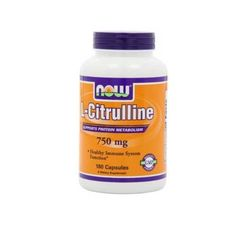 Now Foods Citrulline 750 Mg 180 Capsules