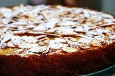 Amazing. One of the best cakes I've ever made or tasted: Gâteau Aux Amandes via Bouchon Bakery