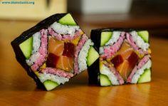 Sushi As Art! Cola Sushi Too! Japan's Wildest Sushi! My Sushi, Sushi Art, Sashimi, Nigiri Sushi, How To Make Sushi, Food To Make, Sushi Comida, Sushi Roll Recipes, Sushi Dishes
