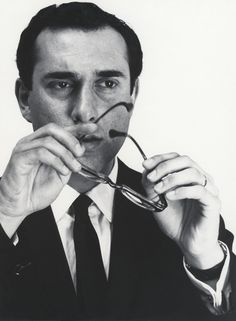 Undated portrait of Harold Pinter by Cecil Beaton.