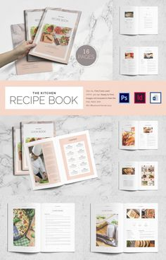 Cookbook Template – 31+ Free PSD, EPS, InDesign, Word, PDF Format ...