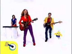 Way too fun....this gal is awesome!  The kids in the video are adorable!  Laurie Berkner - Bumblebee (Buzz Buzz)
