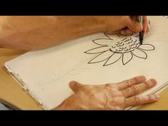 Drawing From Nature:  How to Draw Sunflowers #art #DIY