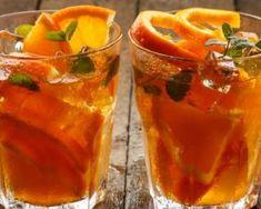 Recette de Thé glacé détox orange et rooibos