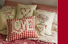 valentine pillows - Google Search
