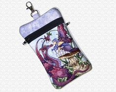 Amy Brown Staring Contest cell phone bag small travel by HautTotes $29+