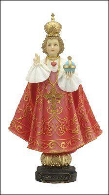 "7"" Resin Child Infant of Prague Statue Coloured Finish 52706 rosarybeads4u http://www.amazon.co.uk/dp/B00LOUNXTU/ref=cm_sw_r_pi_dp_PV9Wub194AVAV"