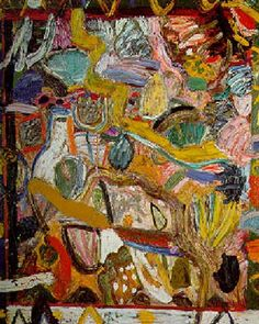Gillian Ayres The sorcerers apprentice Oil on canvas Action Painting, Painting & Drawing, Abstract Shapes, Abstract Art, Graffiti, Acrylic Painting Inspiration, Contemporary Paintings, Abstract Expressionism, Sculpture Art