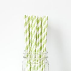 Apple Green Striped