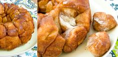 mmmmm...cinnamon sugar monkey bread. you can pick up pizza dough from your local pizzeria to make it!