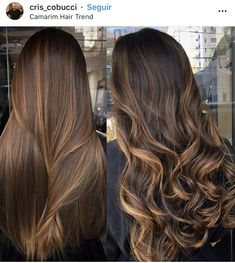 Balayage hair style ideas– Just Trendy Girls: Balayage Straight Hair, Brown Hair Balayage, Brown Blonde Hair, Balayage Brunette, Hair Color Balayage, Straight Hair Highlights, Brown Straight Hair, Fall Highlights, Blonde Honey