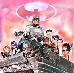 Bat family by Dustin Nguyen