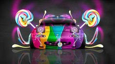 Marvelous Mazda Miata JDM Style Front Fantasy Candy Car