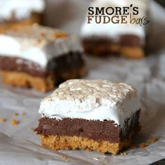 Smores Fudge Bar Recipe - Key Ingredient