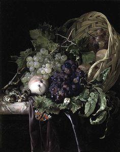 натюрморт художника Willem van Aelst-13
