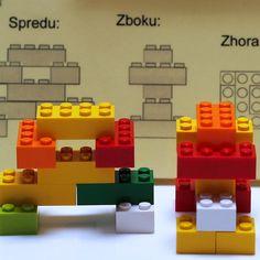 Zábavné hlavolamy, ktoré rozvíjajú priestorovú predstavivosť. Potrebujete k nim len 8 lego kociek 2×4 cuplíky a vytlačené inštrukcie na stavanie.