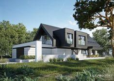 Projekty domów LK&Projekt LK&1336 wizualizacja 11