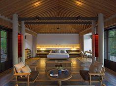 Pavilion Interior - amanoi vietnam