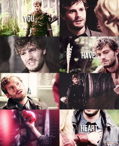 Once Upon a Time, Graham/The Huntsman. I honestly almost cried when the Queen killed him D':
