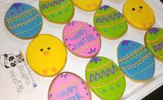 #eastereggs Parte de los surtidos de #easter 😍🐤🐰🍪❤😃 #mycookiecreations #eastercookies #happyeaster #cookies
