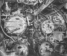 Inside the German submarine SM UB-110, 1918