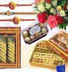 Rakhi gifts with sweets, dry fruits, ferrero rocher chocolate box and mixed roses bouquet with free rakhi available for Chennai. Fast and same day gifts delivery to all location in Chennai. Visit our site : www.flowerschennai.com/Rakhi_Gifts_to_Chennai.php