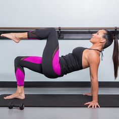 Get a lean, sculpted dancer's body right at home! This pilates barre fusion workout only takes 20 minutes, so you can easily fit a workout in when you wake up or during a lunch break. You'll target smaller muscles to really stretch out your body and get a long and strong physique.