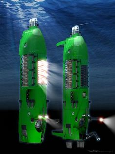 James Cameron's DEEPSEA CHALLENGER  Sub for Deepest Dive into the Mariana Trench.