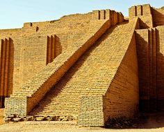 ziggurat of ur babylon iraq creator spiritus pinterest