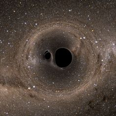 A pair of black holes merges every three minutes somewhere in the universe.