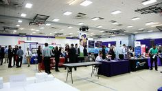 The Hawk Career Fair in Sept of 2012 was a huge success! More than 100 employers had booths and hundreds of students showed up.