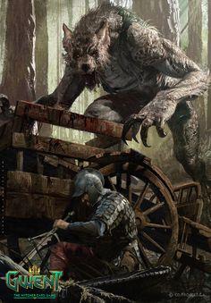 ArtStation - Vincent Werewolf , Diego de Almeida Peres
