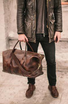 Color : Brown RICHARD BALDWIN Mens Bag Fashion Leather Messenger Bag Leather Shoulder Bag Casual