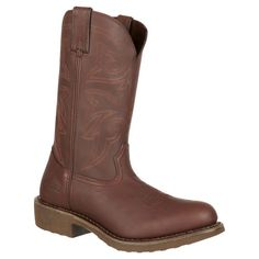 Men's Durango Farm & Ranch Western Boots - Burly Brown