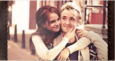 dramione ... tom's eyes look kind of weird in this picture...