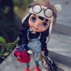 #blythe #doll #checkitout #wanwan #wanwandoll #customblythe #blythedoll ><3<><3<><3<><3<