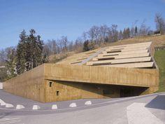 Blended Landscapes: Swiss hillside apartments
