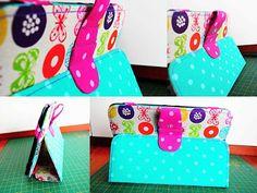 Bar-borka: Návod - obal na tablet III. / Tablet (i-pad) cover sewing tutorial, part III.