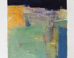 Oktober 12 2014  origineel Abstract olieverfschilderij  9 x