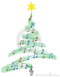 Carol Music Christmas Tree