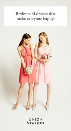 In person union station bridesmaid dresses you can rent or buy