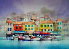Cassis Waterfront - John Lovett.