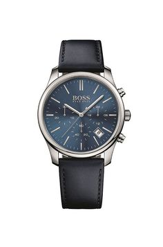 '1513431' | Chronograph Leather Strap Quartz Watch  Assorted-Pre-Pack from BOSS for Men for $245.00 in the official HUGO BOSS Online Store free shipping