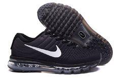 107750e60ad0 Nike Air Max 2017 Black Light Grey White Shoes(36-46) Nike Air