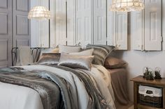 Más en www.lamallorquina.com Comforters, Blanket, Bed, Furniture, Home Decor, Duvet Covers, Beds, Yurts, Colors