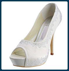 Kevin Fashion ,  Damen Hochzeitsschuhe , Beige - Beige - marfil - Größe: 43 - Damen pumps (*Partner-Link)